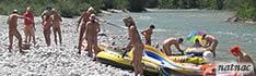 Natnac - Nacktpaddeln auf der Isar '08